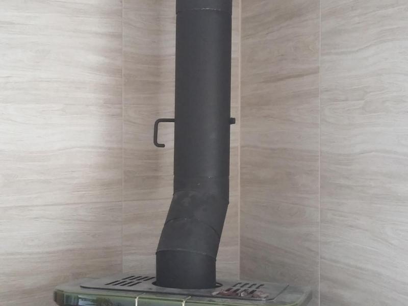 Svislý kouřovod pro krbová kamna - Velký Týnec